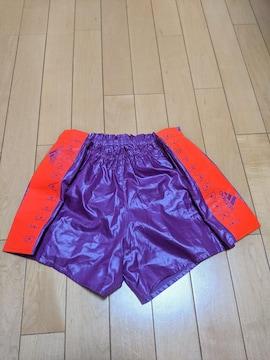 【美品】アディダス ステラスポーツ ランニングパンツMサイズ 紫