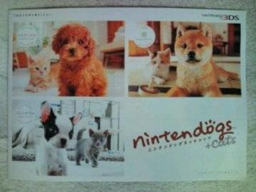 nintendogs+cats カタログ1冊 ニンテンドックス嵐 二宮和也