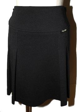 BLU GiRL ブルーガール プリーツスカート ブラック