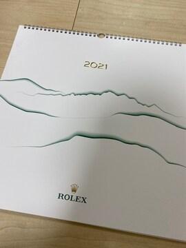 未使用 ROLEX ロレックス 非売品 2021年カレンダー