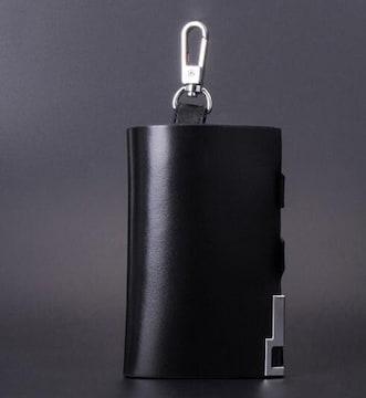 キーケース 本革 レザー 高級感 メンズ レディース 黒 鍵