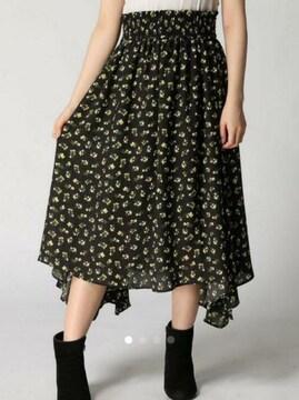 新品*ローリーズファーム*フラワーアシメスカート
