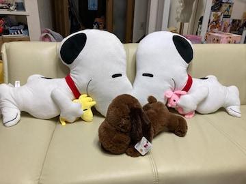 SNOOPY スヌーピー ぬいぐるみセット