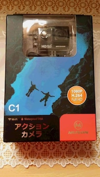 ★ MUSON 1080P アクションカメラC1 レジャー等 新品未使用