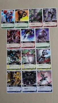 仮面ライダーカード レンジャーズストライク13種�C