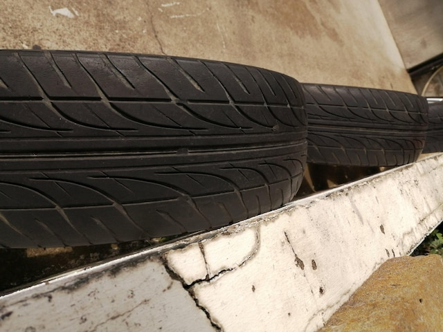ダイハツコペン純正アルミホイールラジアルタイヤ165/50r15インチムーヴムーブタントミラウェイク < 自動車/バイク