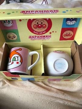 アンパンマンマグ&茶碗セット