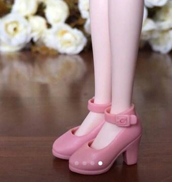 ドール用パンプス ピンク