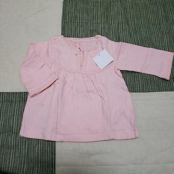 80cm 薄ピンク かわいい トップス ベビー