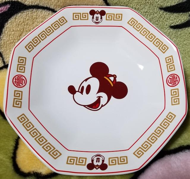 TDR☆ミッキー【中華食器/チャーハン皿】中華帽子のミッキー『夢』