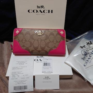COACH長財布新品未使用品F53780