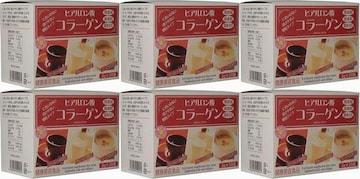 6箱(180袋) ヒアルロン酸コラーゲン 3g×30袋 健康と美容に。