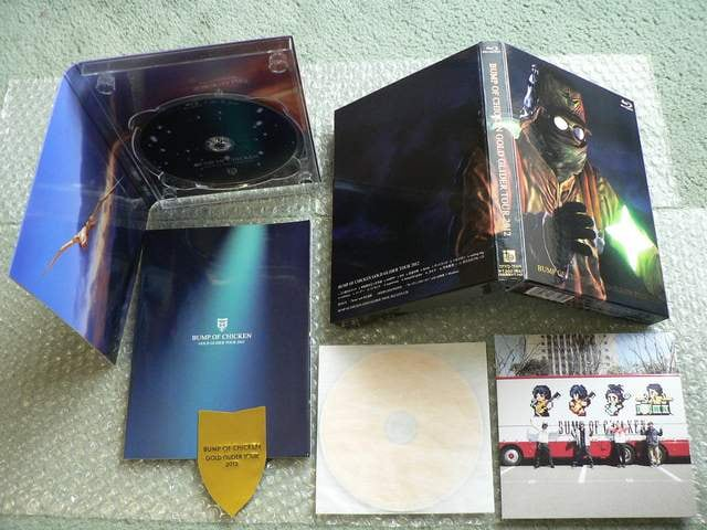 BUMP OF CHICKEN/GOLD GLIDER TOUR 2012(初回盤)Blu-ray+LIVE CD < タレントグッズの