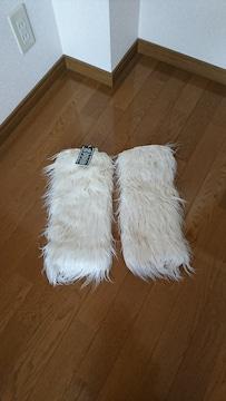 新品タグ付き  セシル  レッグウォーマ
