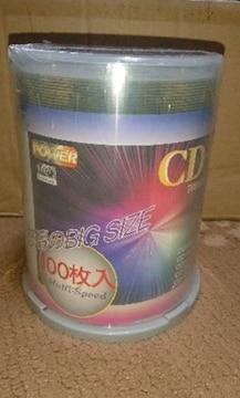 新品未使用 CD-R 100枚セット