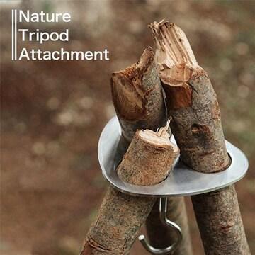 ¢M 枝木で簡単トライポッド ステンレス製トライポッドアタッチメント