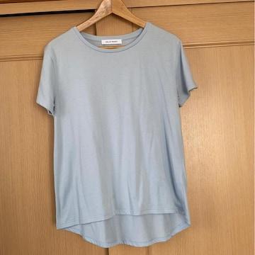 ☆*。AZUL BY MOUSSY シンプルTシャツ 水色☆*。