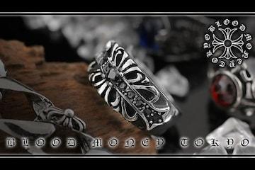 オラオラ系悪羅悪羅系/ヤクザ&ホスト&メンナク/サージカルステンレスリング14052黒-30号
