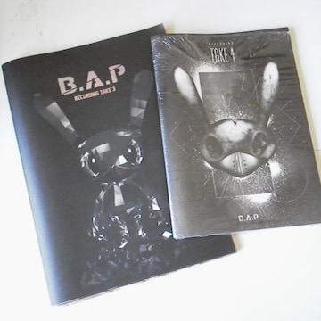 レア★B.A.P【限定版】Recording Take 3&4(DVD付き)2冊 デヒョン