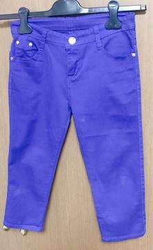 �Fパンツ 青 ハーフパンツ 25サイズ