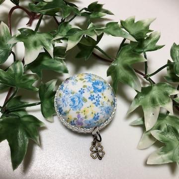 ハンドメイド  小花柄 マカロンメジャー 裁縫道具 巻尺 教材