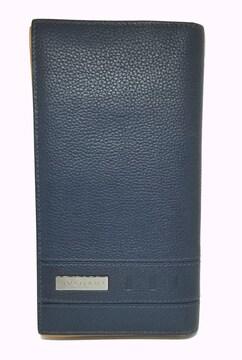 正規ブルガリ長財布 型押しレザーバックル283456ネイヒ
