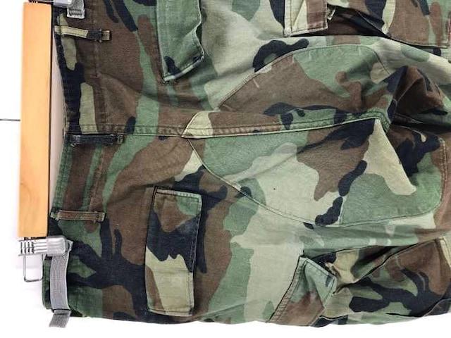 U.S.ARMY(ユーエスアーミー)ウッドランド カモフラージュ カーゴパンツカーゴパンツ < 男性ファッションの