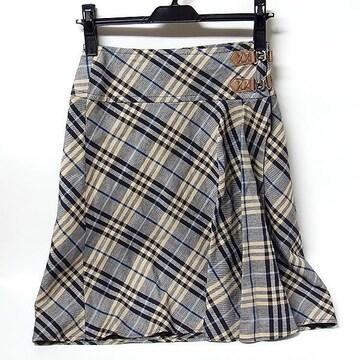 【バーバリー/BURBERRY】ブルーレーベル スカート 36