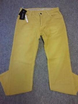 ナンバーナイン†09秋冬物コーデュロイパンツ†黄色†