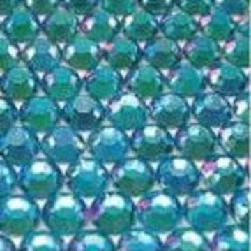 ● 5mm ● デコ用ストーン  2000粒 ライトブルー