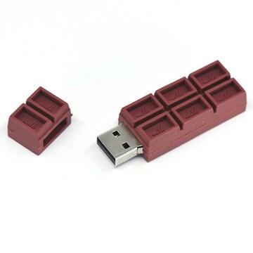 チョコレート型 USBメモリ 32GB USBフラッシュメモリ 大容量