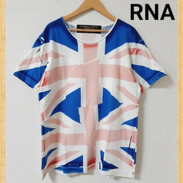 RNA アールエヌエー Tシャツ 美品 M イギリス 国旗