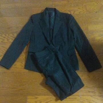 UNTITLED スーツ 紺のストライプ 上9号下4号