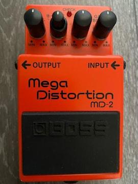 Boss MD-2 Mega Distortion ボス メガ ディストーション 美品