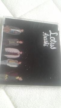 [CD]嵐「Lotus」通常盤 帯有 相葉雅紀「バーテンダー」主題歌 おまけ有