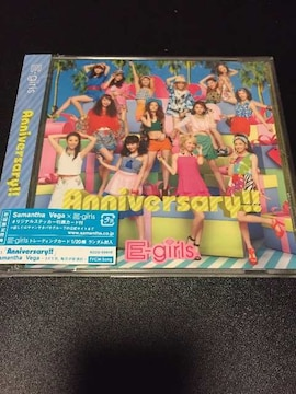 E-girls ♪Anniversary♪ CDシングル☆