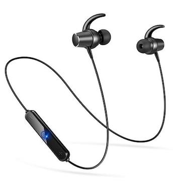Bluetooth イヤホン防水 スポーツ仕様ブラック