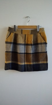 EMMAJAMES チェックボックススカート