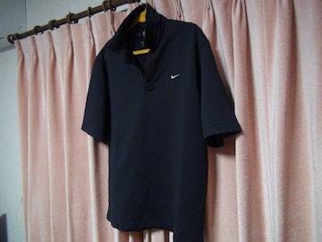 NAKE GOLFのポロシャツ(L)ブラック!。