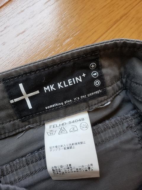 ☆新品同様☆MK KLEIN☆半端丈パンツ☆38 < ブランドの