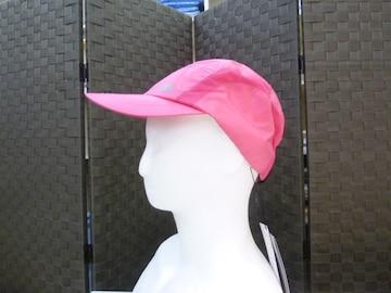 桃)カッパ★キャップ 帽子 KR318HW11 薄手軽量 撥水 再帰反射 ラン
