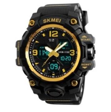 SKMEI 1155B スポーツウォッチ(ゴールド)