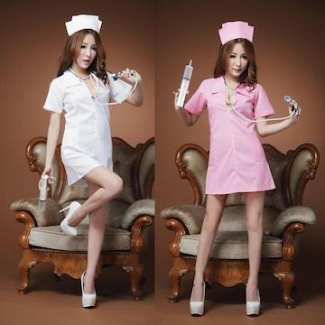 2色 ナース服 コスプレ衣装 コスチューム