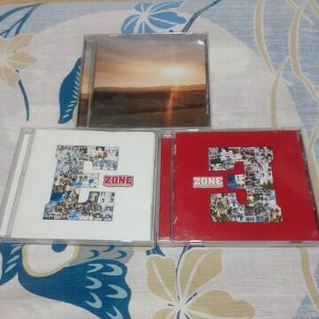 Zone/ CD アルバム3枚セット