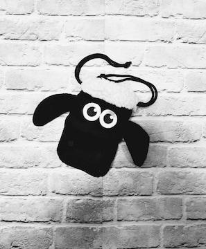 ひつじのショーン◆巾着袋◆ポーチ バッグ 収納