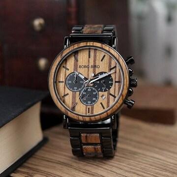 天然ウッドウォッチ 腕時計 ボボバード