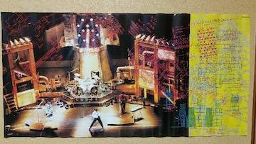 送料無料/BOOWY GIGS JUST A HERO TOUR初回CD再販特典ポスター