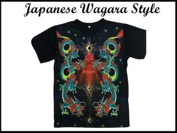 新品 Japanese Wagara Style 日本和柄 ストリーウェア L