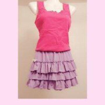 B2025 ファッションルームウェア/Deany キャミ&キュロット