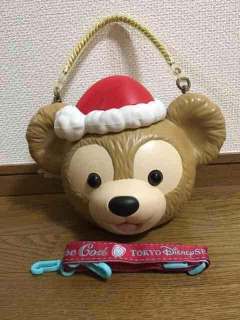 TDS ディズニーシー ダッフィーポップコーンバケット クリスマス  < おもちゃの